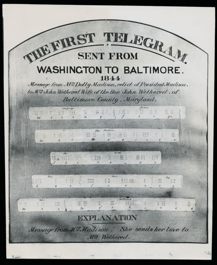 Dolly-Madison-Telegram-presentation