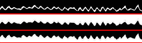 """How to """"play back"""" a picture of a sound wave 