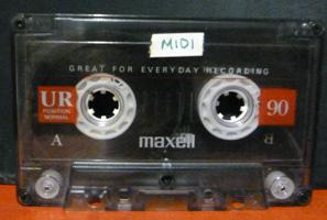 midi-cassette