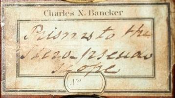 bancker-artifact-label