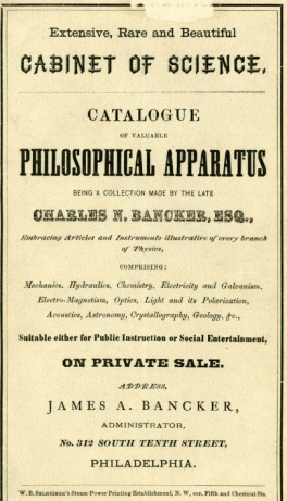 bancker-catalog-title-page
